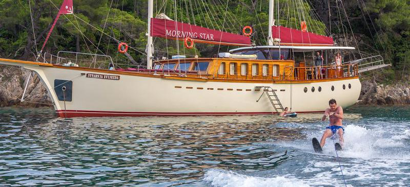 motorni jedrenjak Morning Star