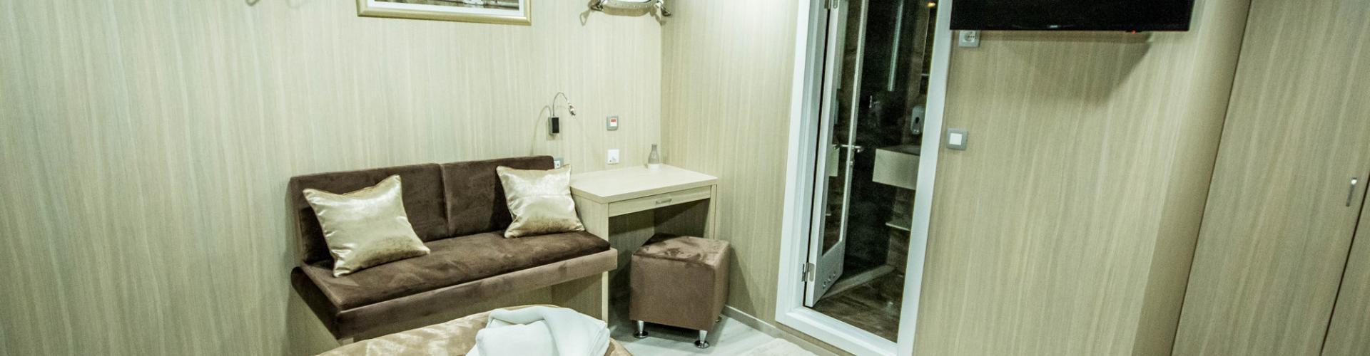 kabina na krstarenju Kabina (donja paluba)