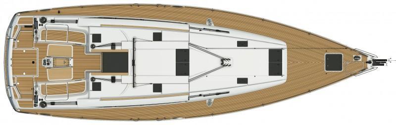 jedrilica Sun Odyssey 509