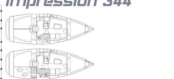 jedrilica Elan 344 Impression