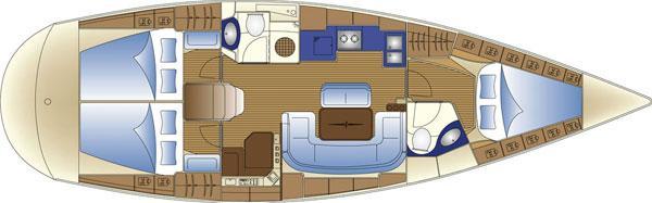 jedrilica Bavaria 42 Cruiser