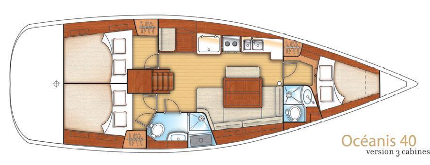 jedrilica Oceanis 40