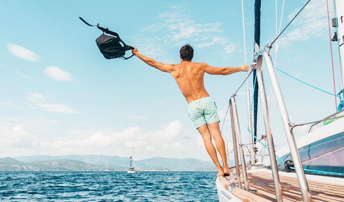 Idete na jedrenje, a ipak morate i raditi na brodu?