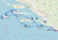 Novo! Planer rute plovidbe i preporučeni itinereri