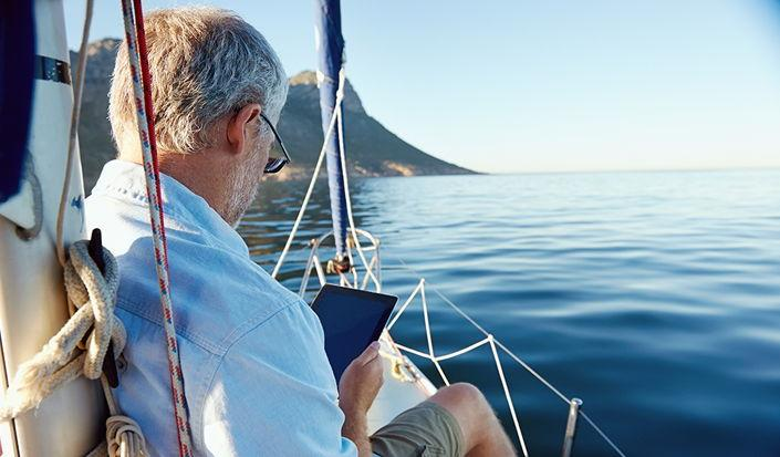 Srebrno jedrenje - Mislite da ste prestari za jedrenje?