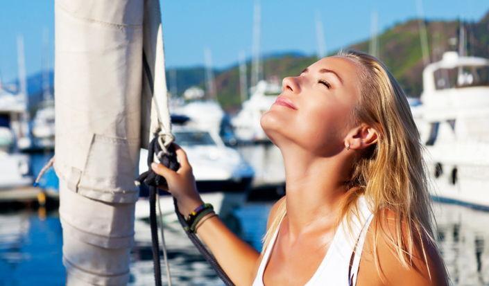 Zaštita od sunca tijekom jedrenja