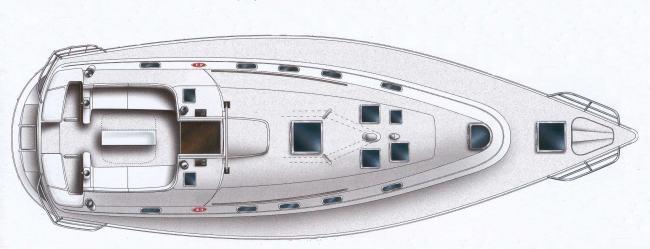 jedrilica Gib`sea 43