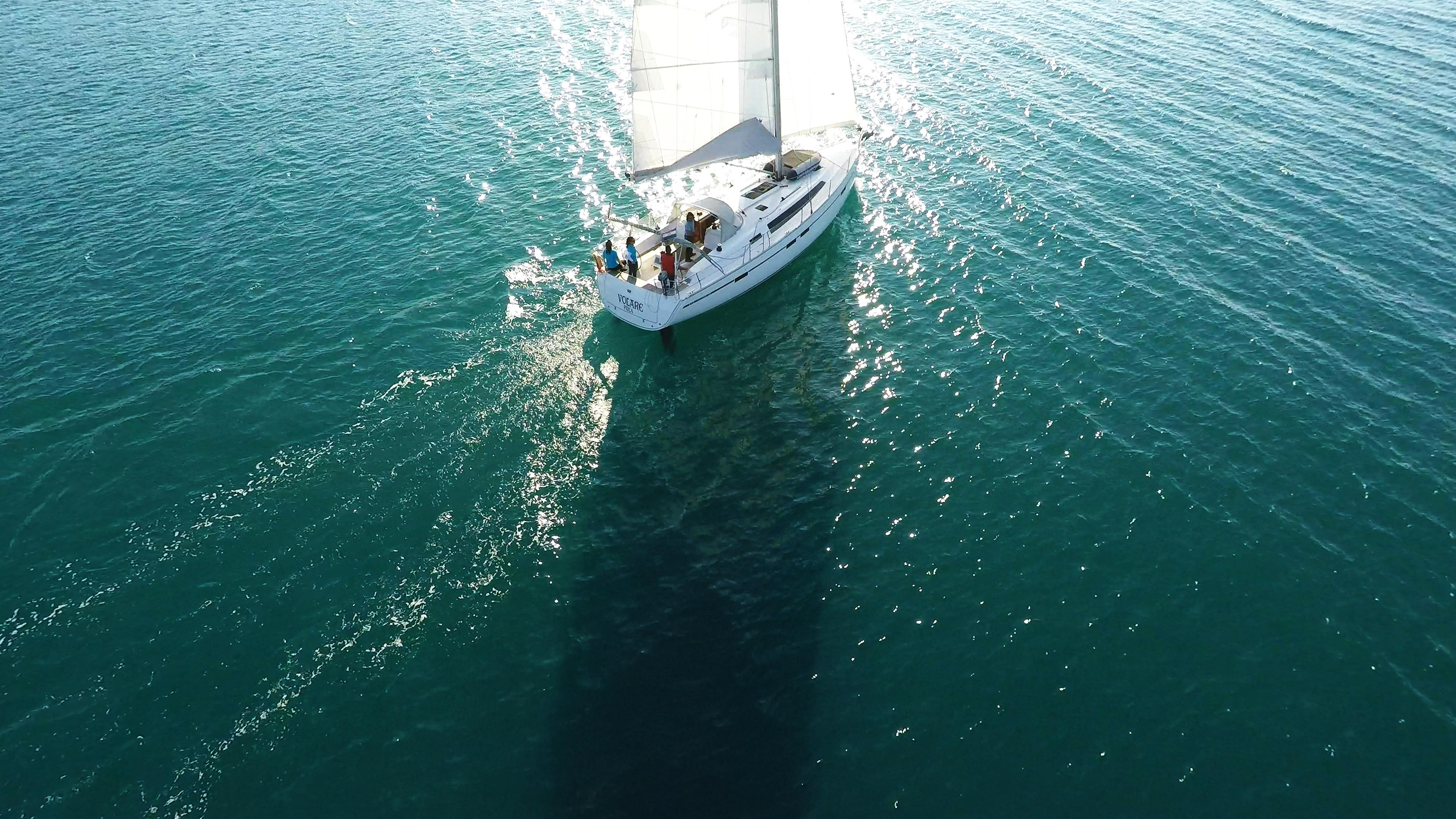 jedrilica jedri more