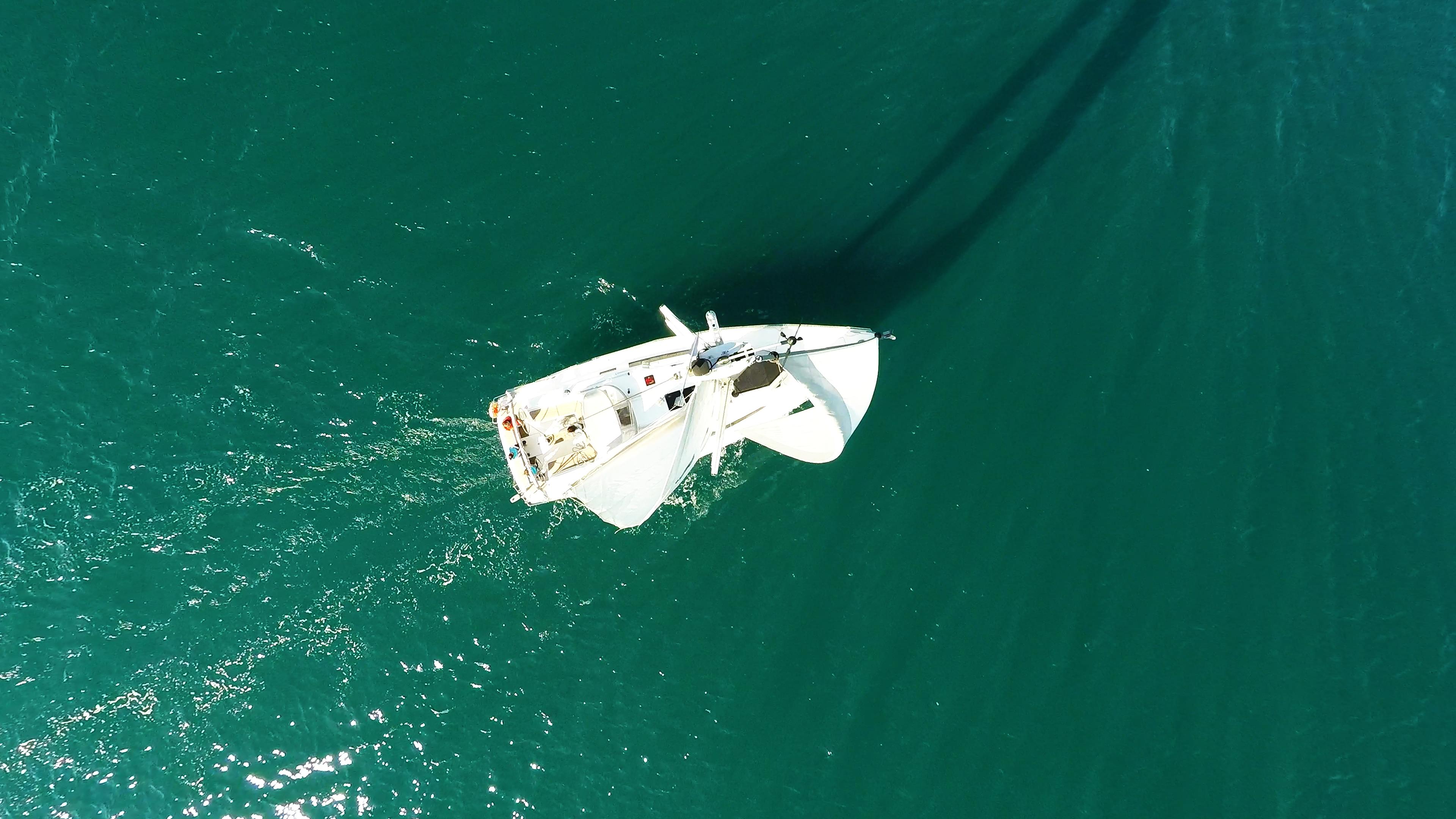 vrh jarbolana jedrilica jedrilica more