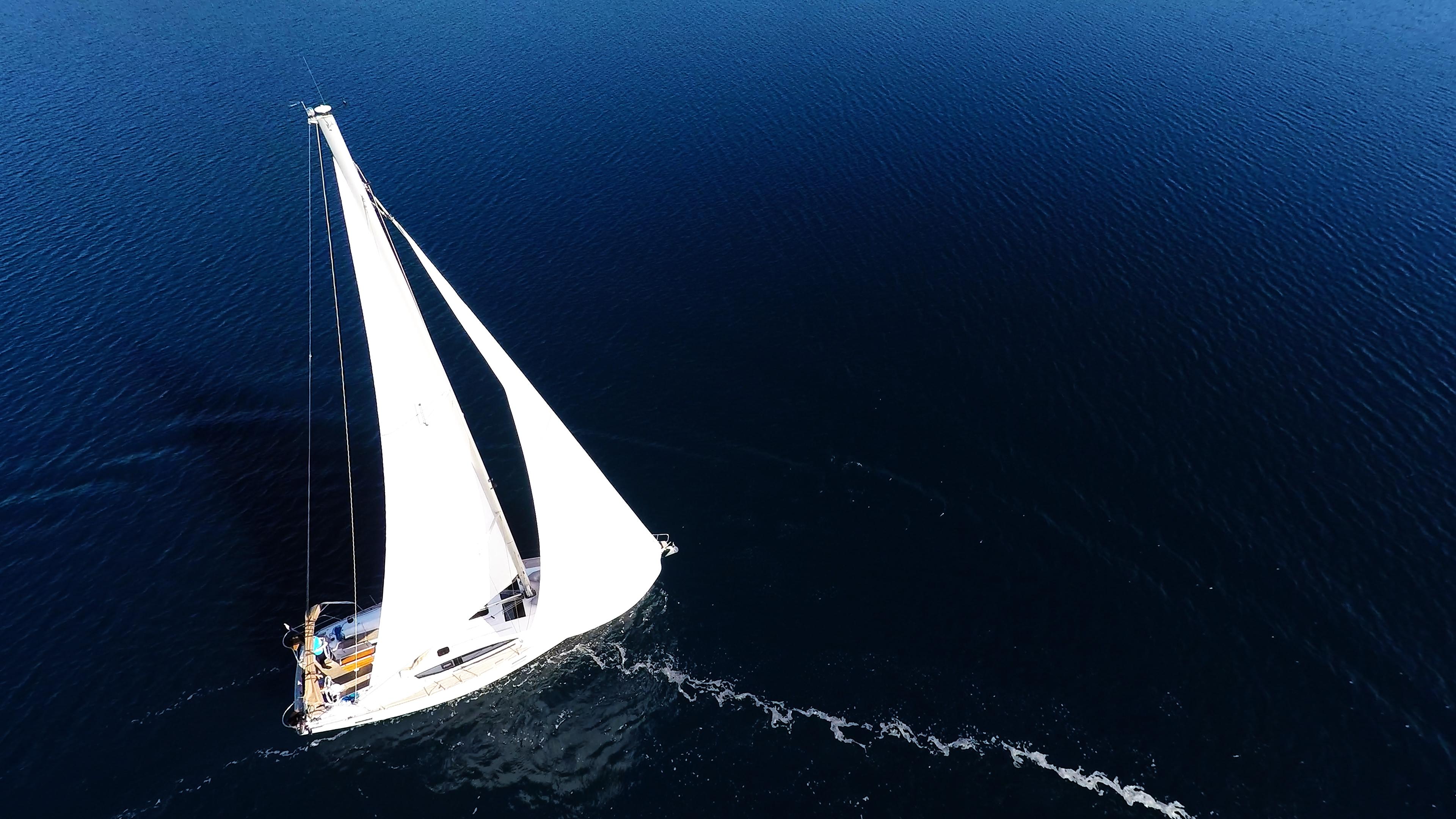 jedra jedrilica elan 45 jedrilica plavo more