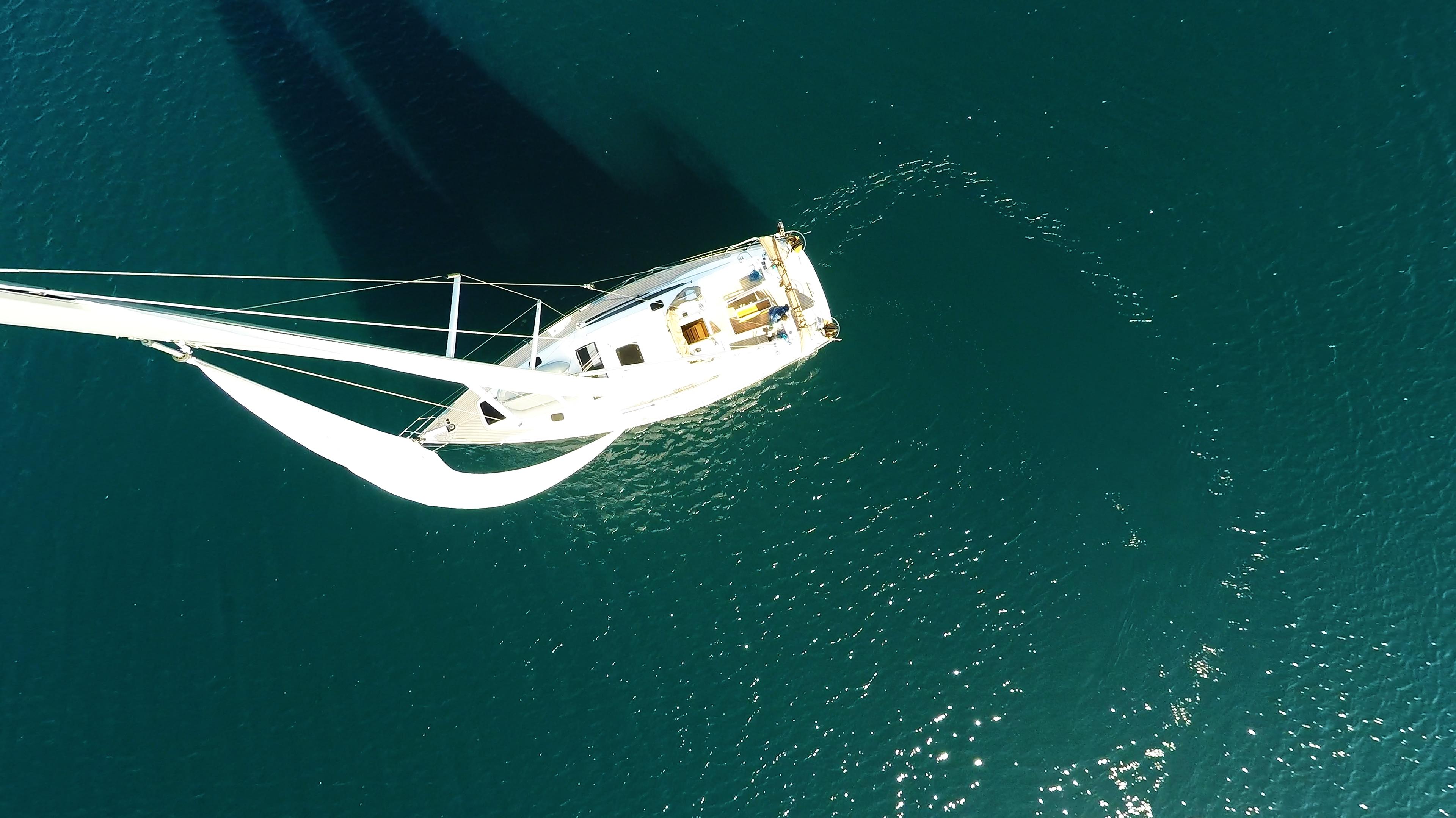 pogled s jarbola jedro jedra jedrilica jedrilica čamac