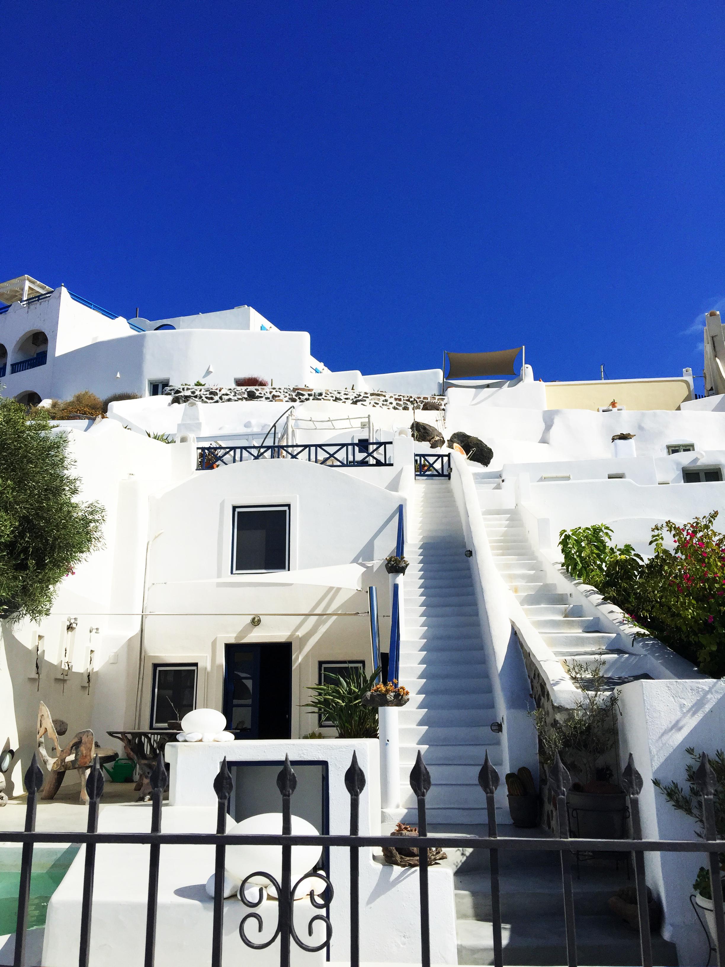 Santorini vila Grčka